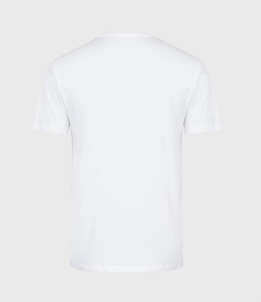 Mens Hollowpoint Crew T-Shirt (optic_white) - Image 3