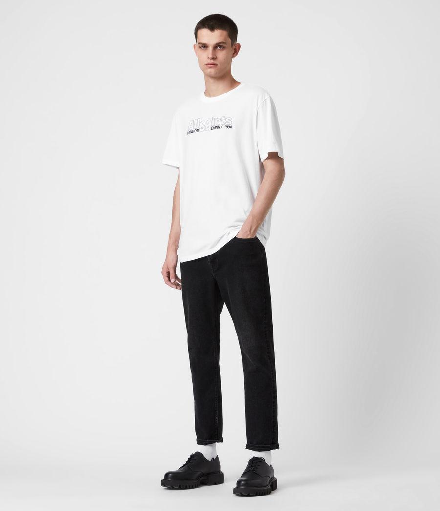 Mens Hollowpoint Crew T-Shirt (optic_white) - Image 5