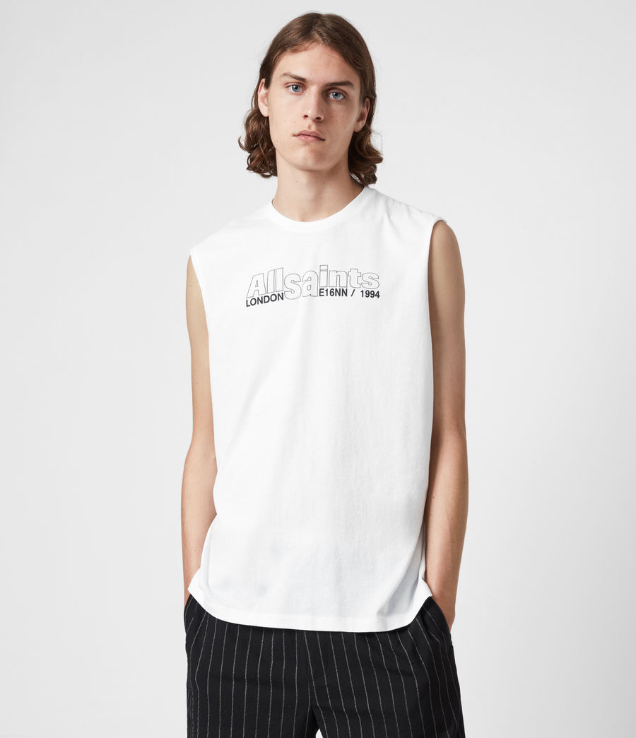 Men's Hollowpoint Crew Vest (optic_white) - Image 1