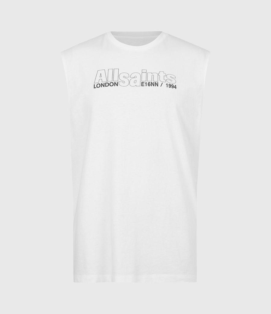 Men's Hollowpoint Crew Vest (optic_white) - Image 2