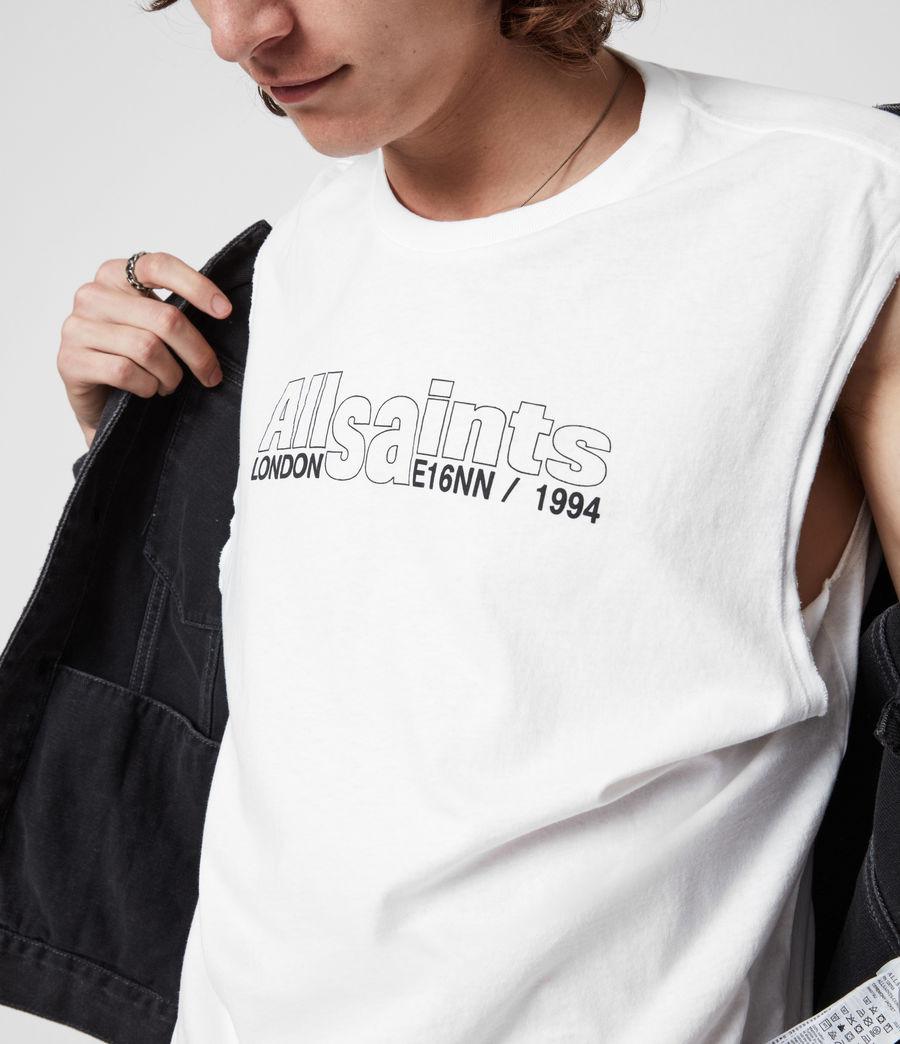 Men's Hollowpoint Crew Vest (optic_white) - Image 4