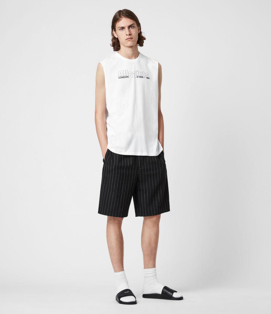 Men's Hollowpoint Crew Vest (optic_white) - Image 6