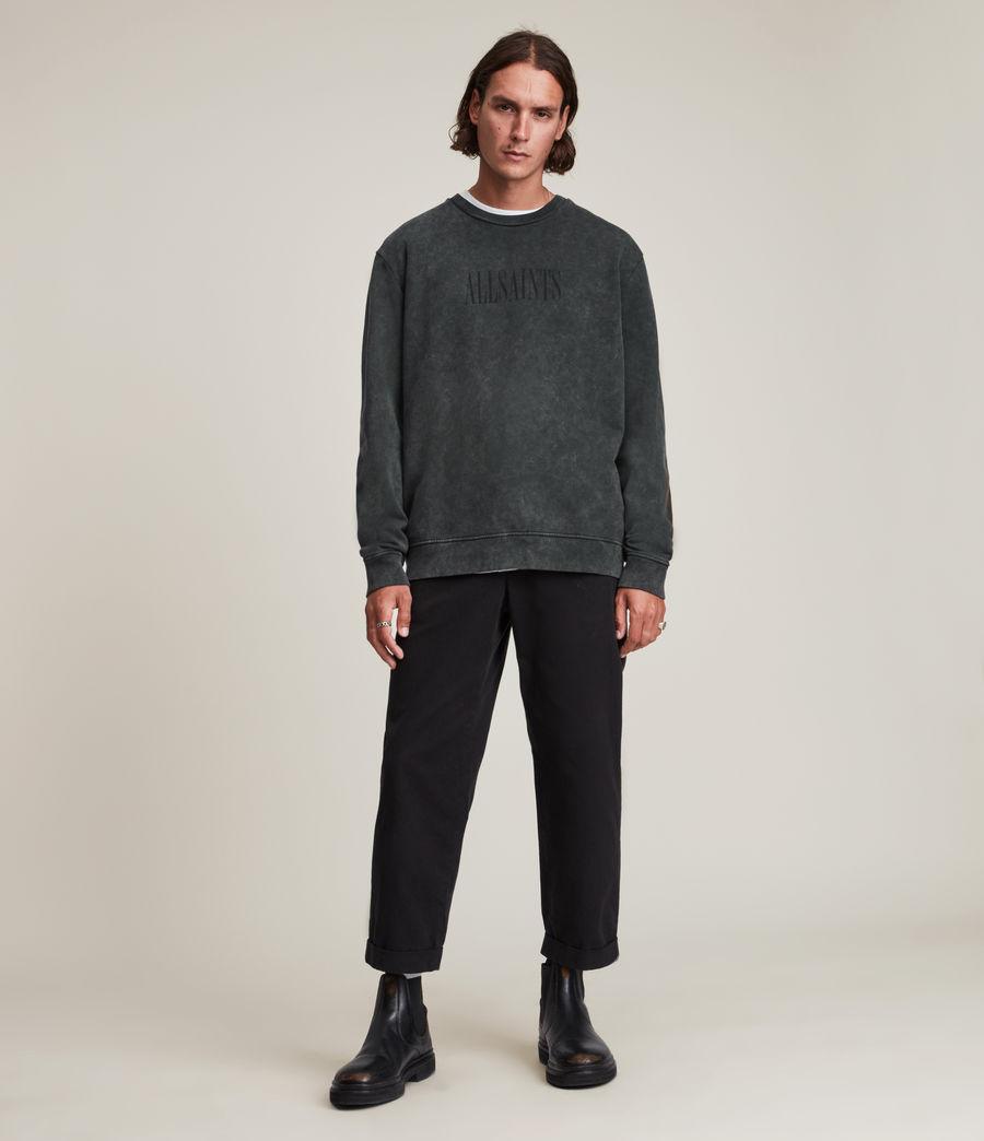 Hommes Gallo Crew Sweatshirt (washed_black) - Image 4