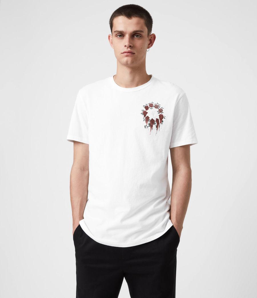Men's Ceremony Brace Crew T-Shirt (optic_white) - Image 1