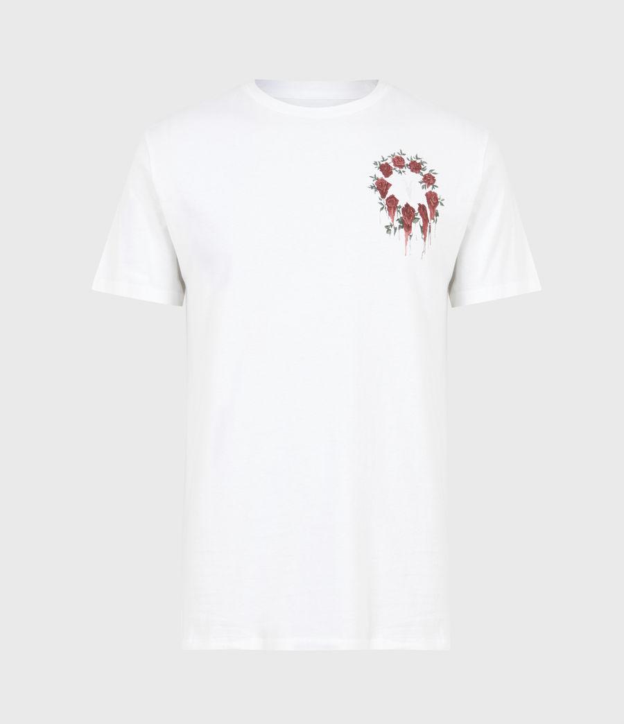 Men's Ceremony Brace Crew T-Shirt (optic_white) - Image 2