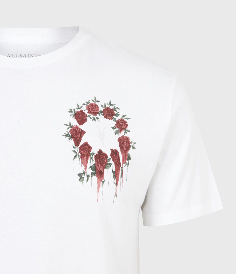 Men's Ceremony Brace Crew T-Shirt (optic_white) - Image 4