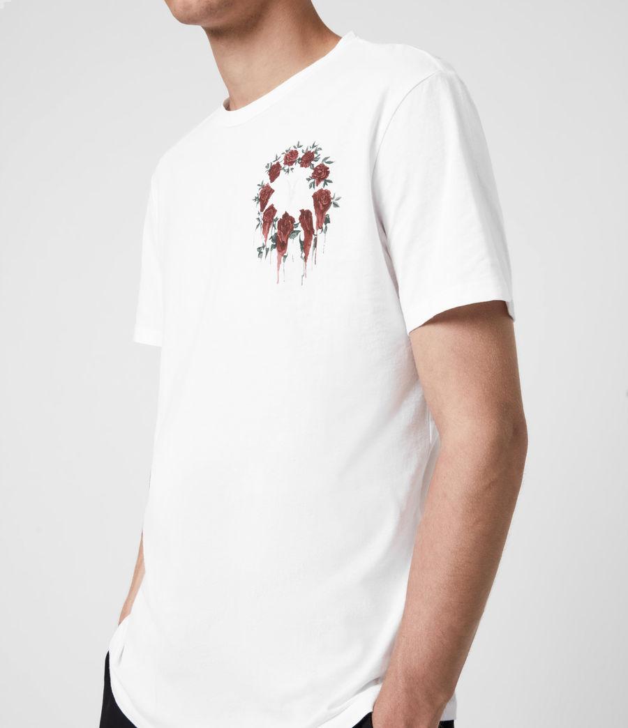 Men's Ceremony Brace Crew T-Shirt (optic_white) - Image 5