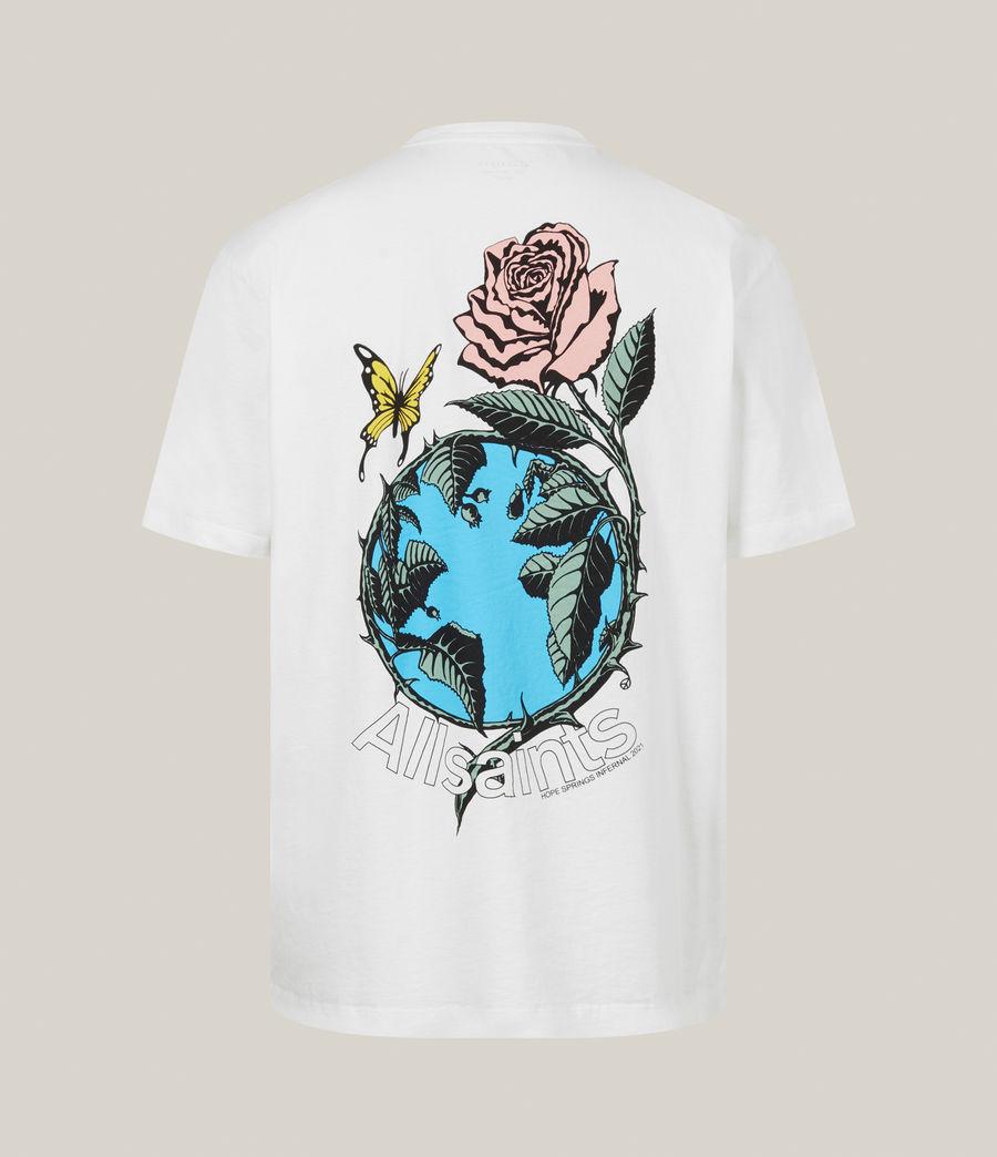 Men's Aquatique Crew T-Shirt (optic_white) - Image 3