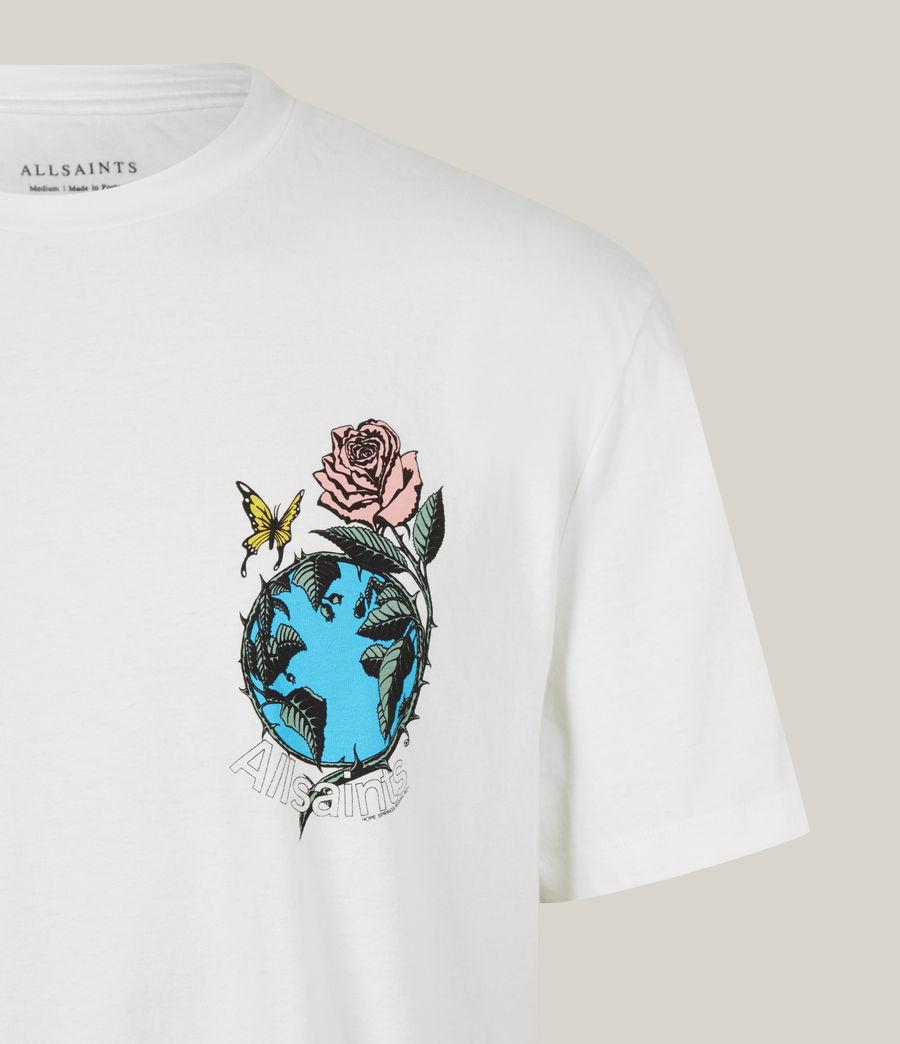 Men's Aquatique Crew T-Shirt (optic_white) - Image 5