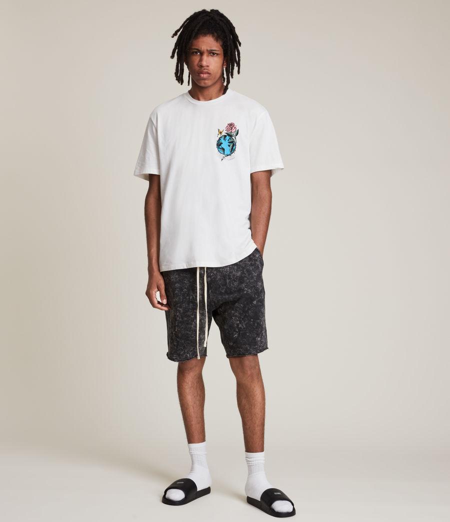 Men's Aquatique Crew T-Shirt (optic_white) - Image 6