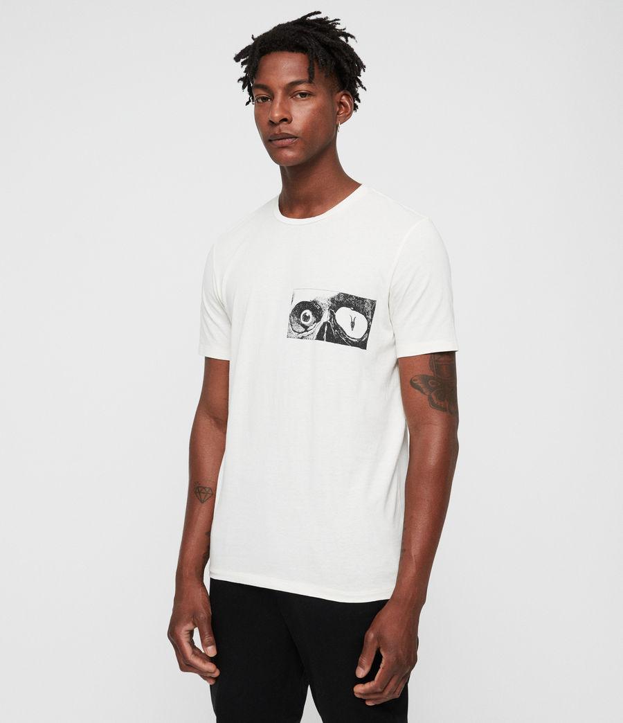 Mens Vision Crew T-Shirt (chalk) - Image 1