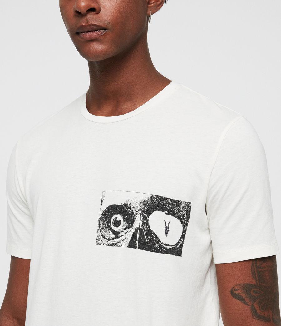 Mens Vision Crew T-Shirt (chalk) - Image 2