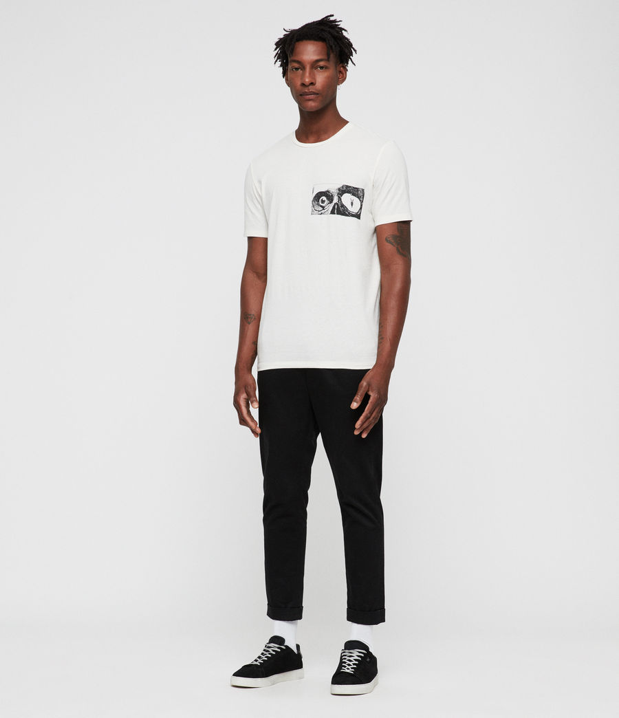 Mens Vision Crew T-Shirt (chalk) - Image 3