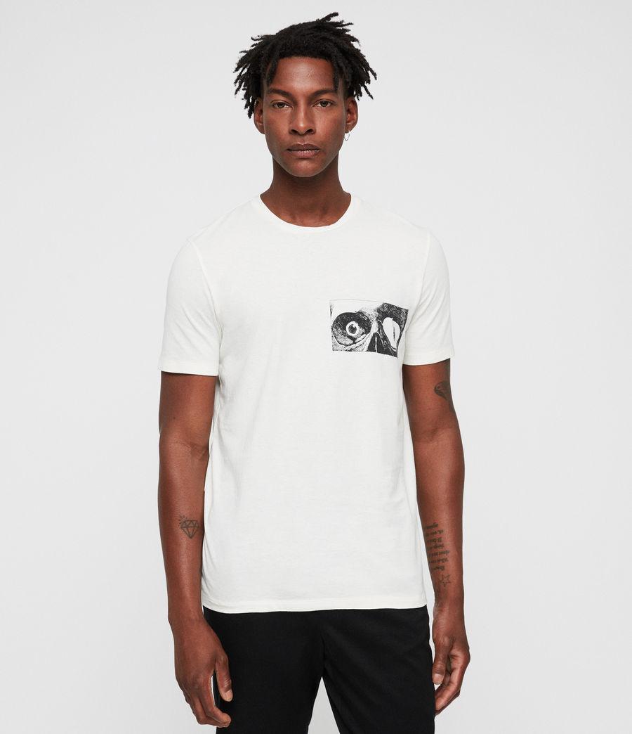 Mens Vision Crew T-Shirt (chalk) - Image 4