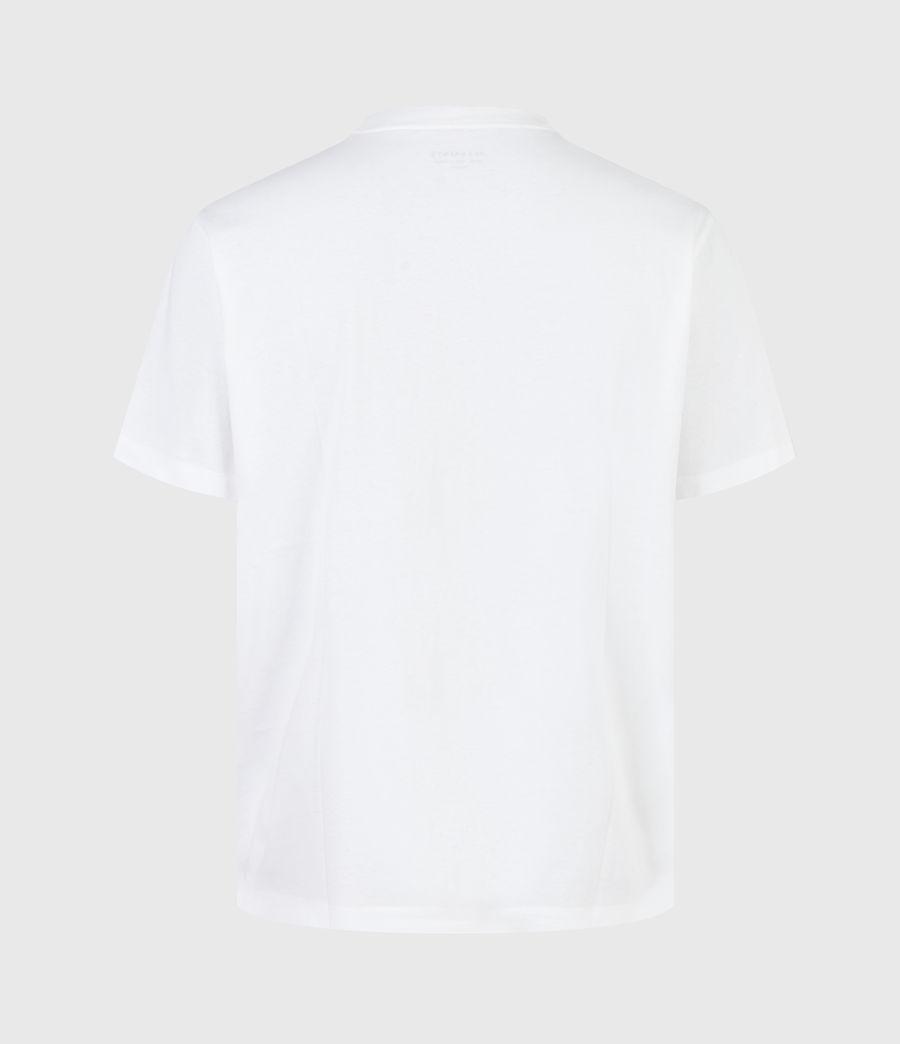 Herren Crypto Crew T-Shirt (optic_white) - Image 3