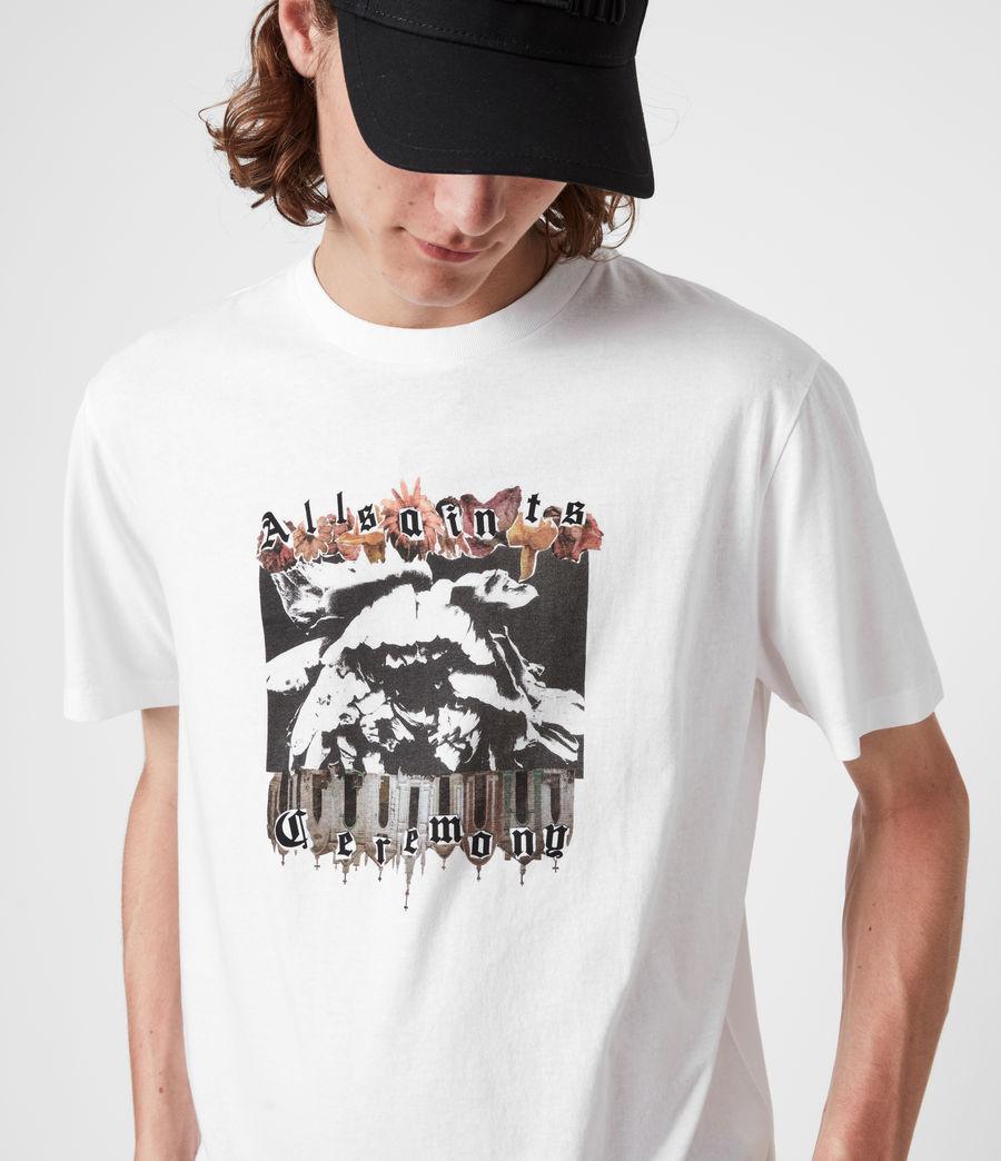 Herren Crypto Crew T-Shirt (optic_white) - Image 4