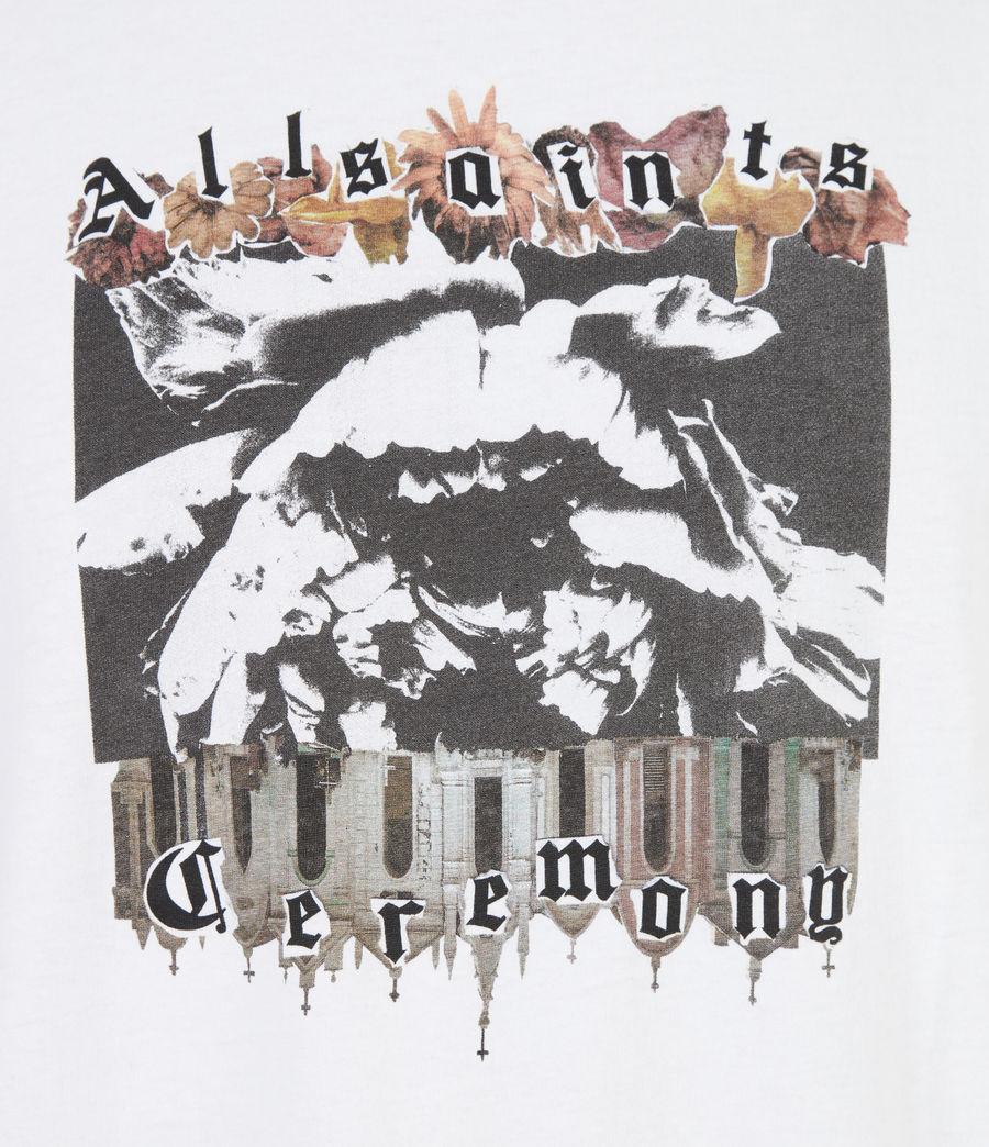 Herren Crypto Crew T-Shirt (optic_white) - Image 6