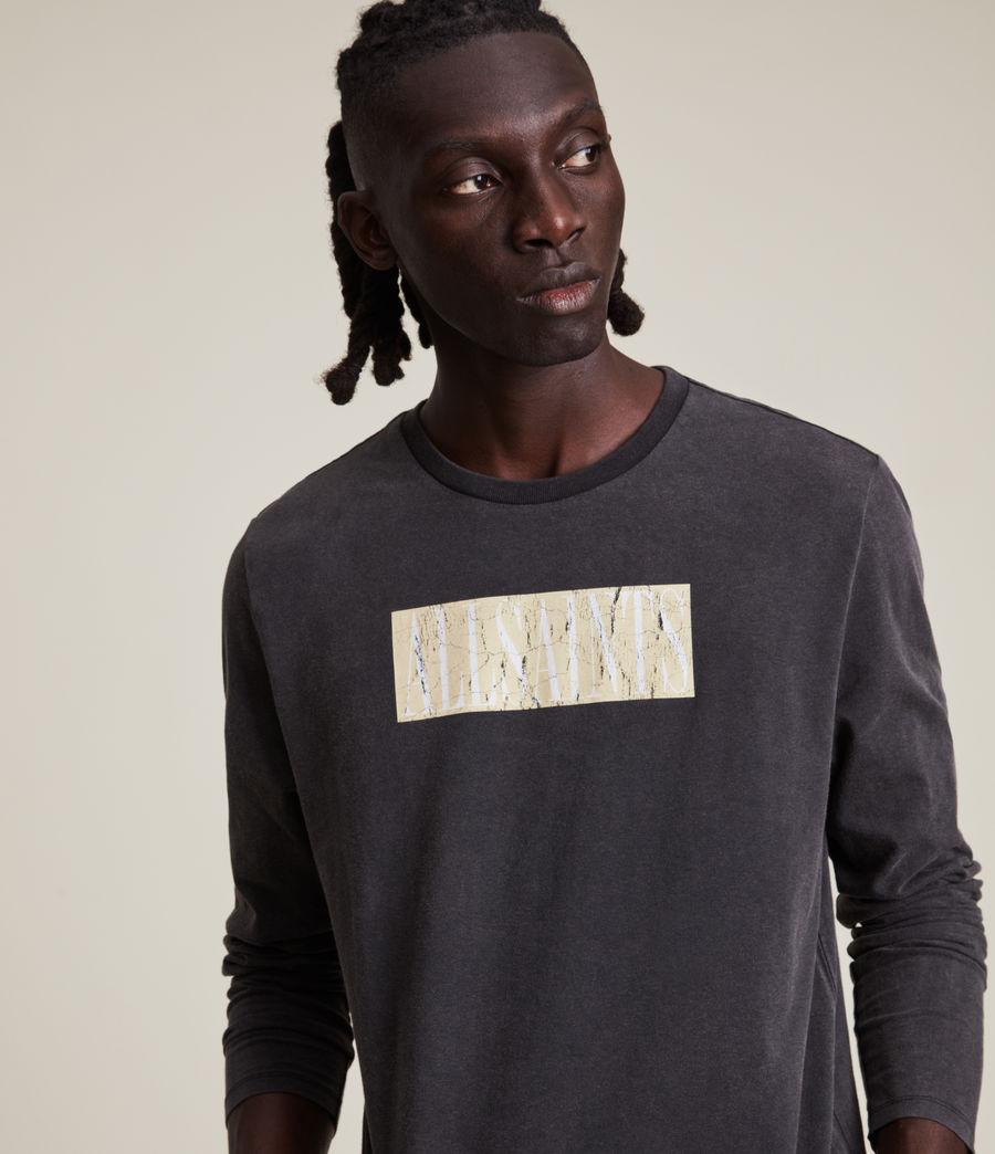 Men's Integers Crew T-Shirt (jet_black) - Image 4