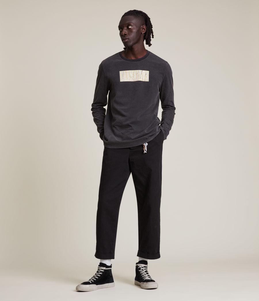 Men's Integers Crew T-Shirt (jet_black) - Image 5