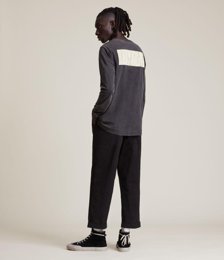 Men's Integers Crew T-Shirt (jet_black) - Image 6