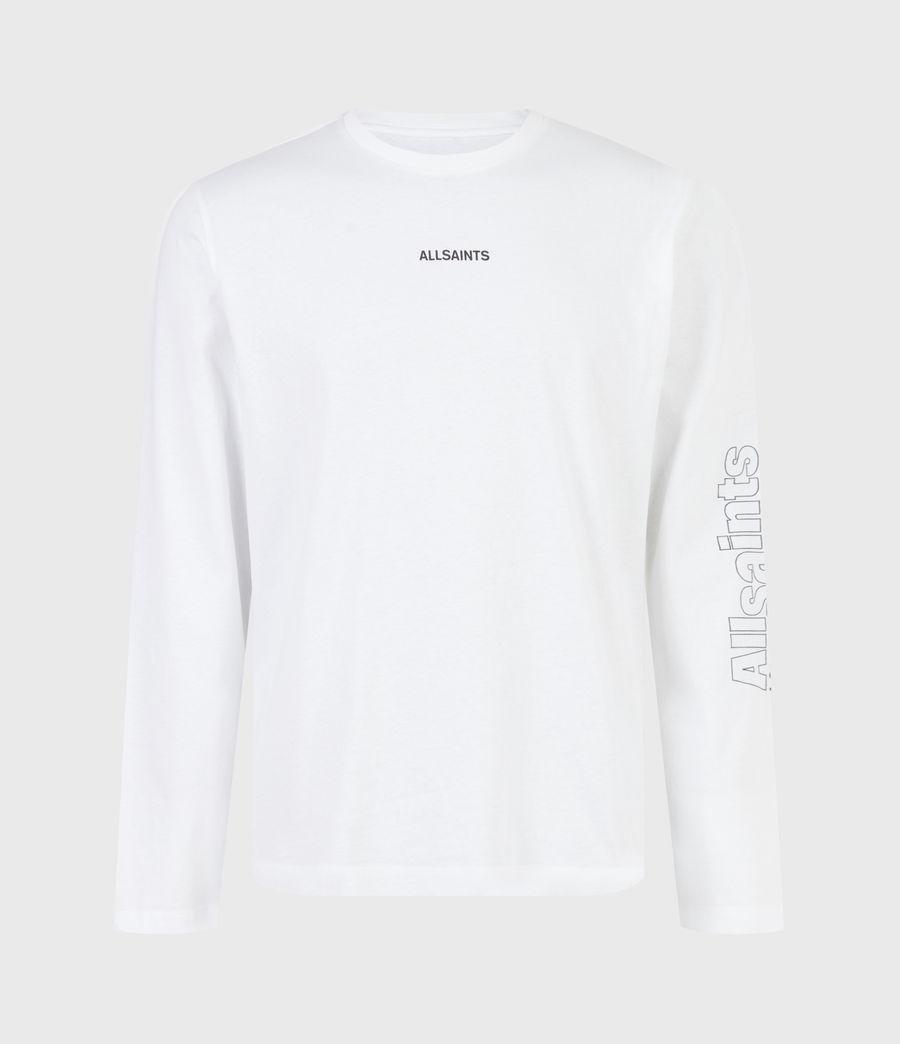 Men's Hollowpoint Long Sleeve Crew T-Shirt (optic_white) - Image 2