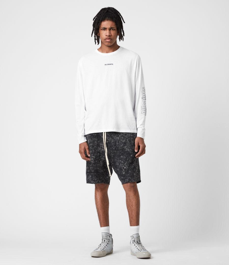 Men's Hollowpoint Long Sleeve Crew T-Shirt (optic_white) - Image 7