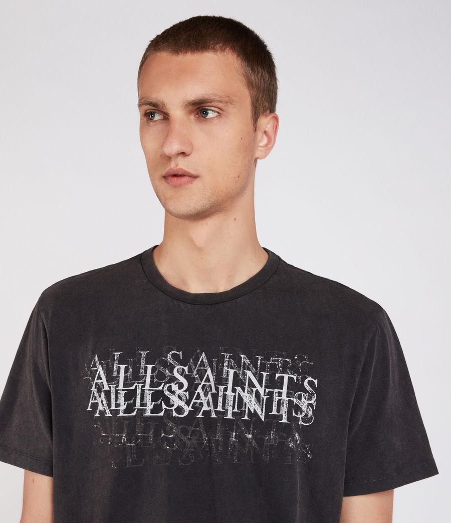 Men's Imprinted Crew T-Shirt (vintage_black) - Image 1