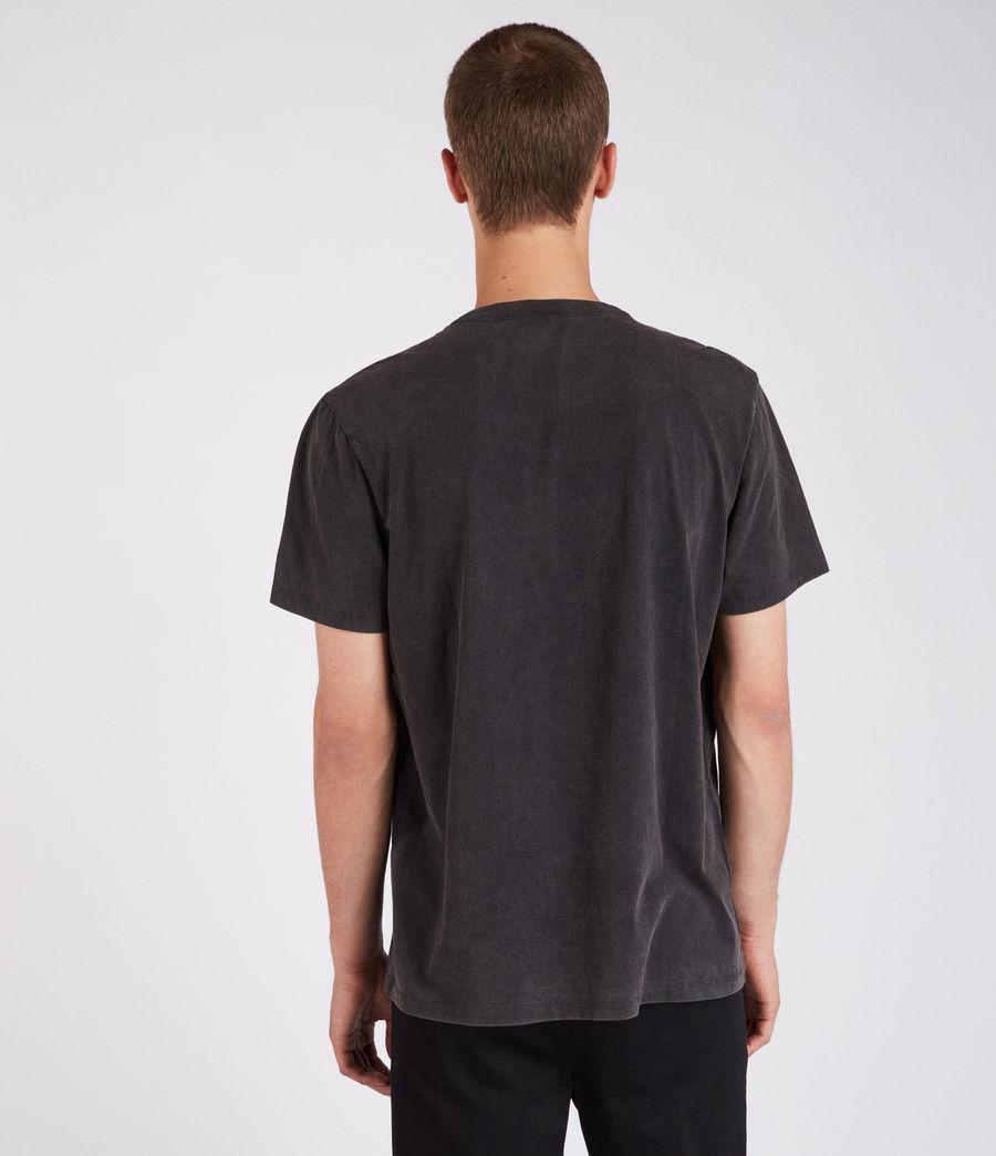 Men's Imprinted Crew T-Shirt (vintage_black) - Image 2