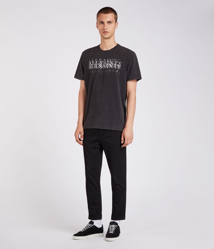 Men's Imprinted Crew T-Shirt (vintage_black) - Image 3