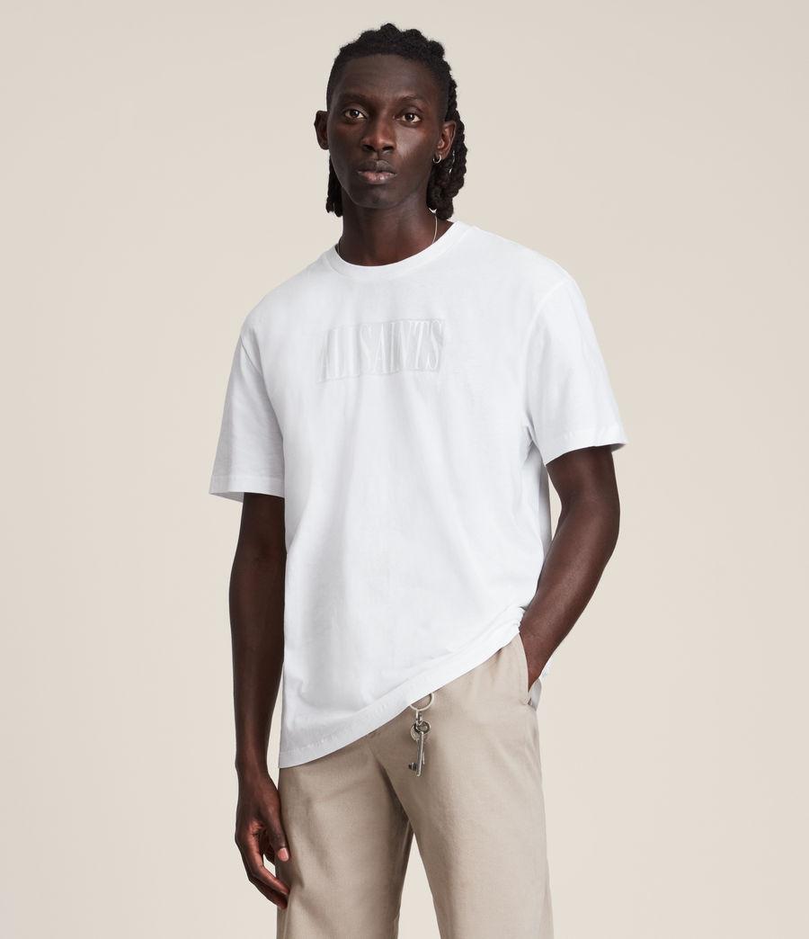 Men's Integers Crew T-Shirt (optic_white) - Image 2