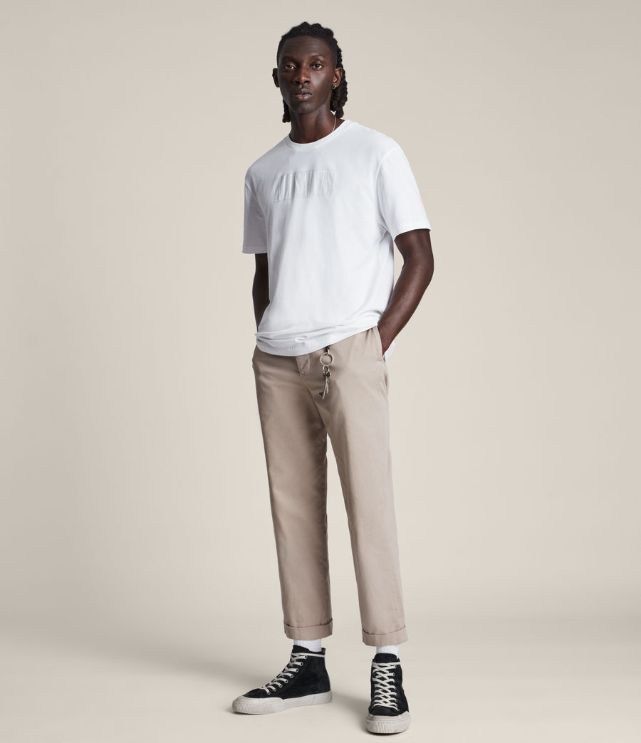 Men's Integers Crew T-Shirt (optic_white) - Image 3