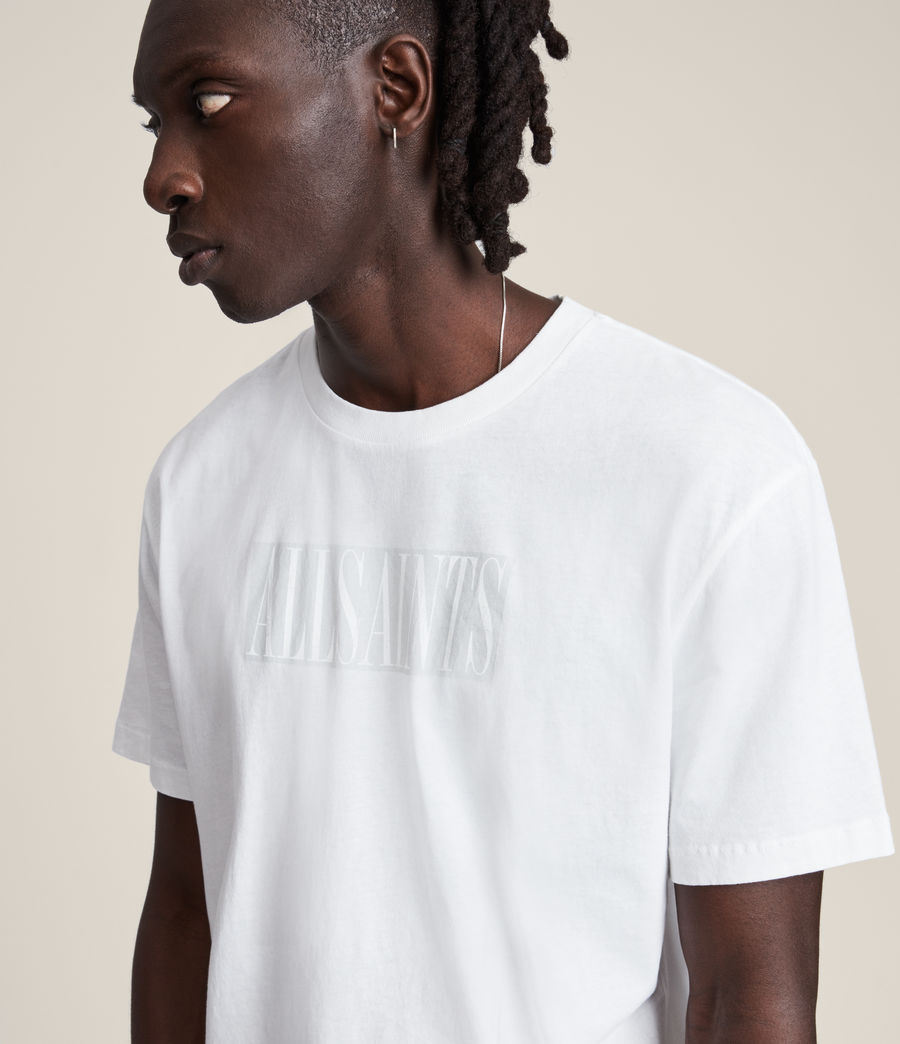 Men's Integers Crew T-Shirt (optic_white) - Image 4