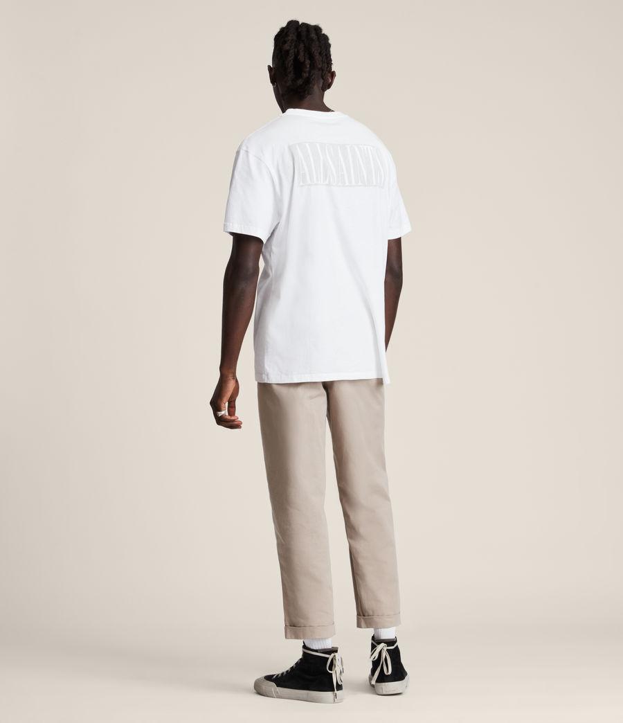 Men's Integers Crew T-Shirt (optic_white) - Image 5