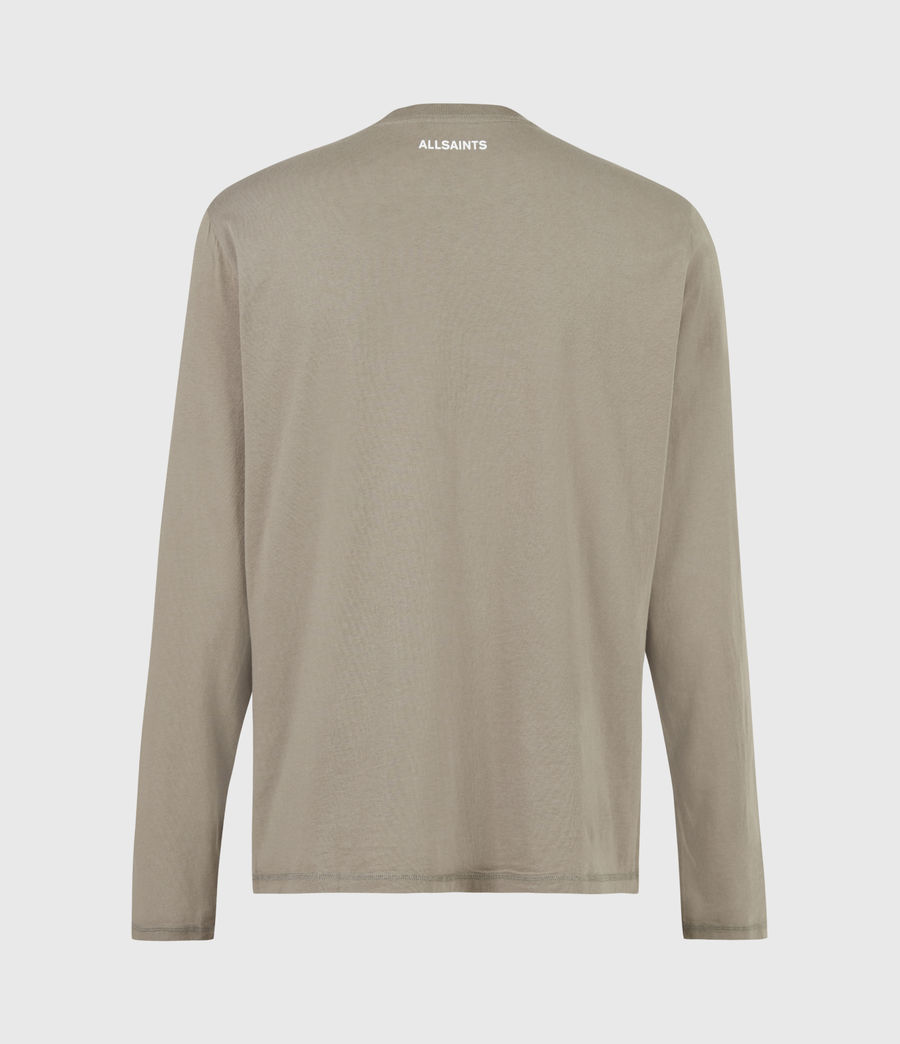 Mens Infernal Crew T-Shirt (willow_taupe) - Image 3