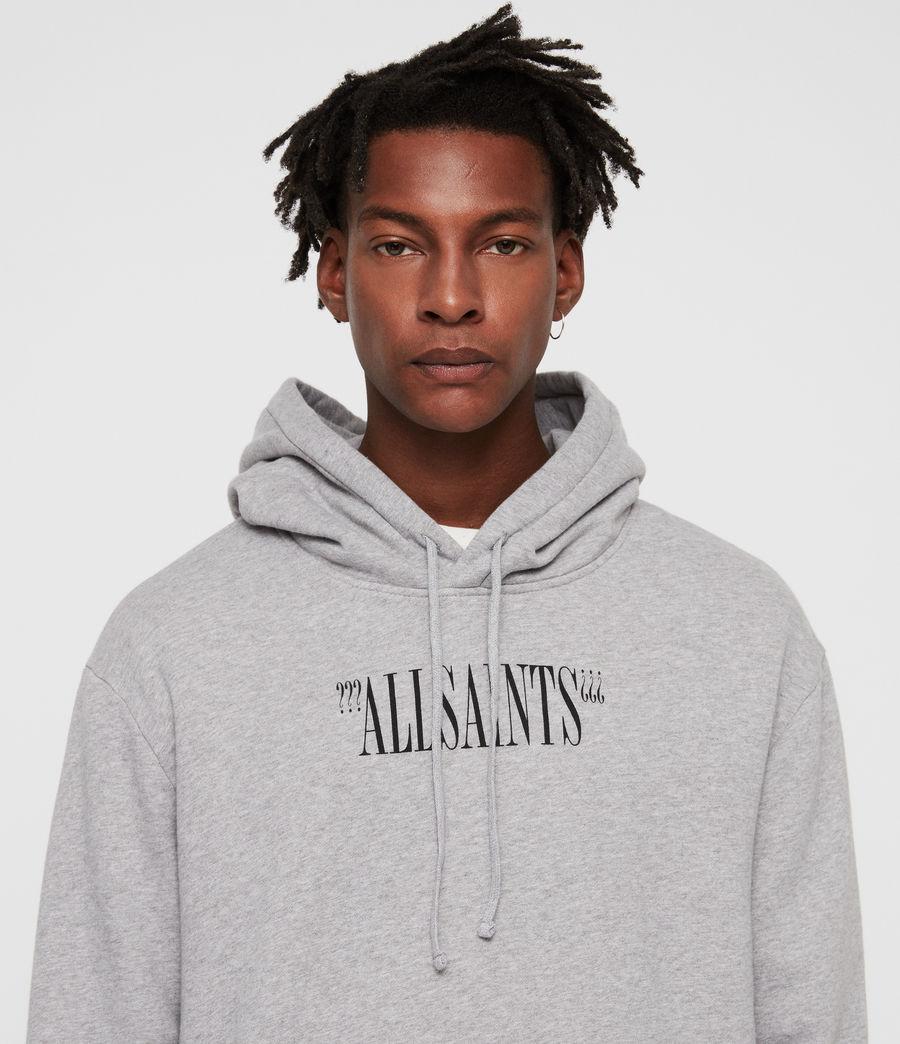 Men's Brackets Pullover Hoodie (grey_marl) - Image 2