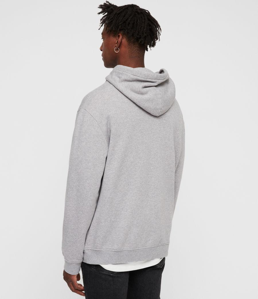 Men's Brackets Pullover Hoodie (grey_marl) - Image 5