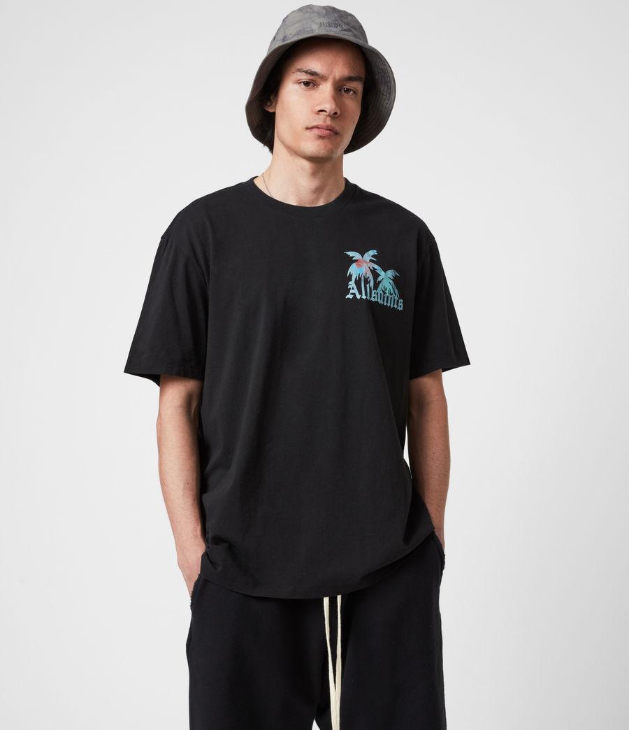 Mens Malibeau Crew T-Shirt (jet_black) - Image 1