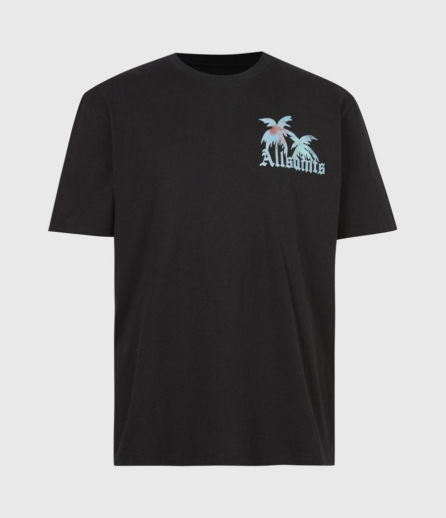 Mens Malibeau Crew T-Shirt (jet_black) - Image 2