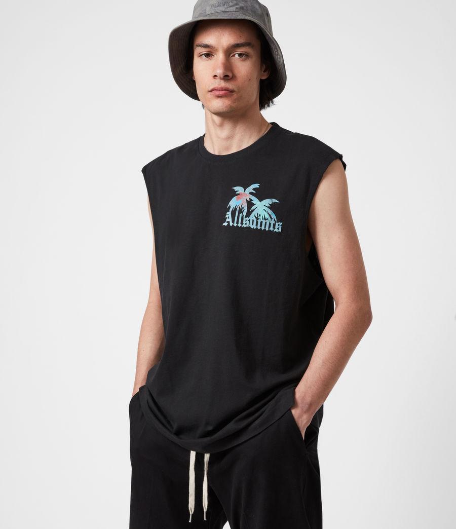 Men's Malibeau Crew Vest (jet_black) - Image 1