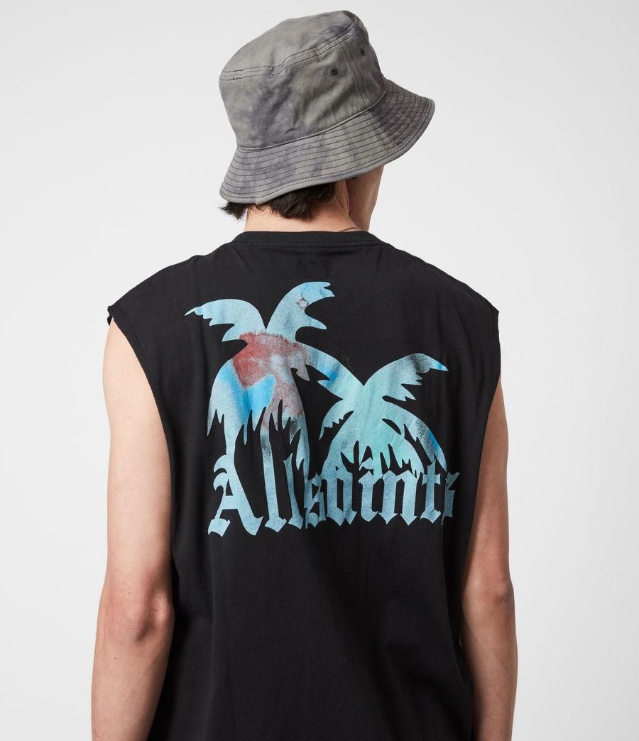 Men's Malibeau Crew Vest (jet_black) - Image 4