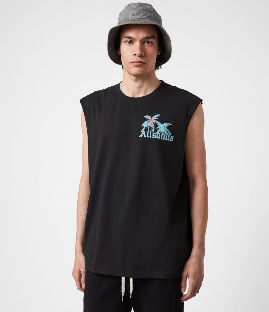 Men's Malibeau Crew Vest (jet_black) - Image 6