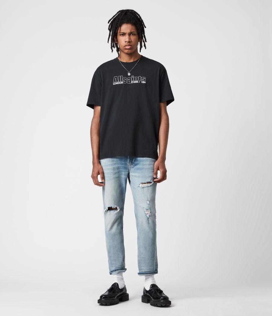 Mens Hollowpoint Crew T-Shirt (jet_black) - Image 6