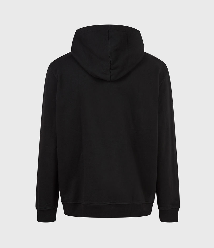 Hommes Hollowpoint Pullover Hoodie (jet_black) - Image 3