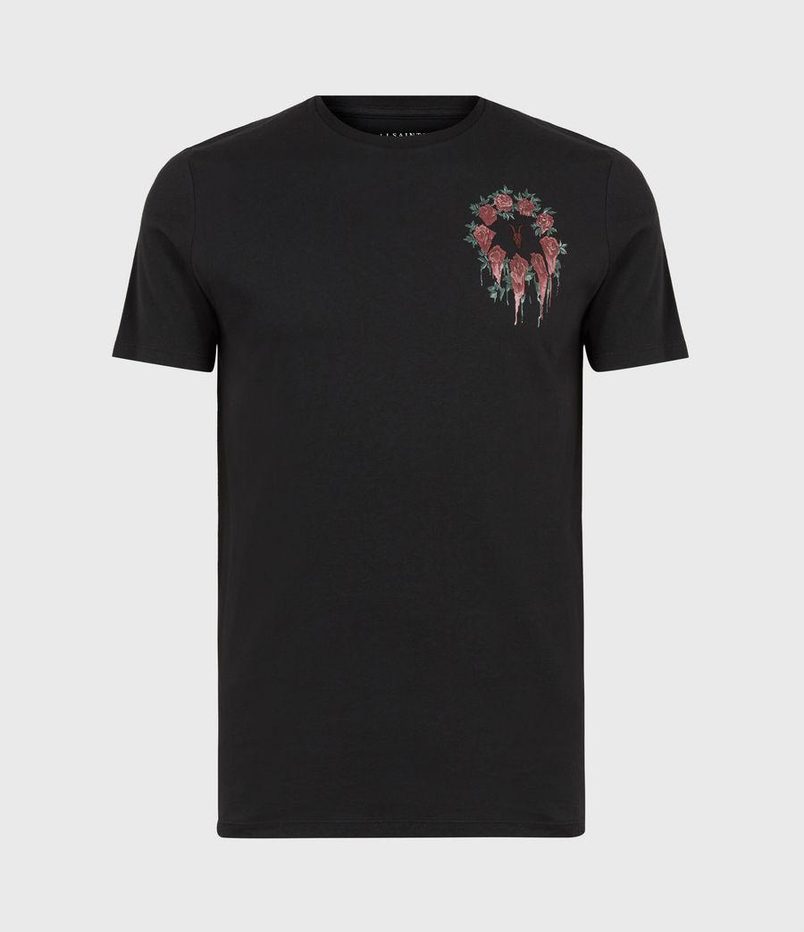 Men's Ceremony Brace Crew T-Shirt (jet_black) - Image 2