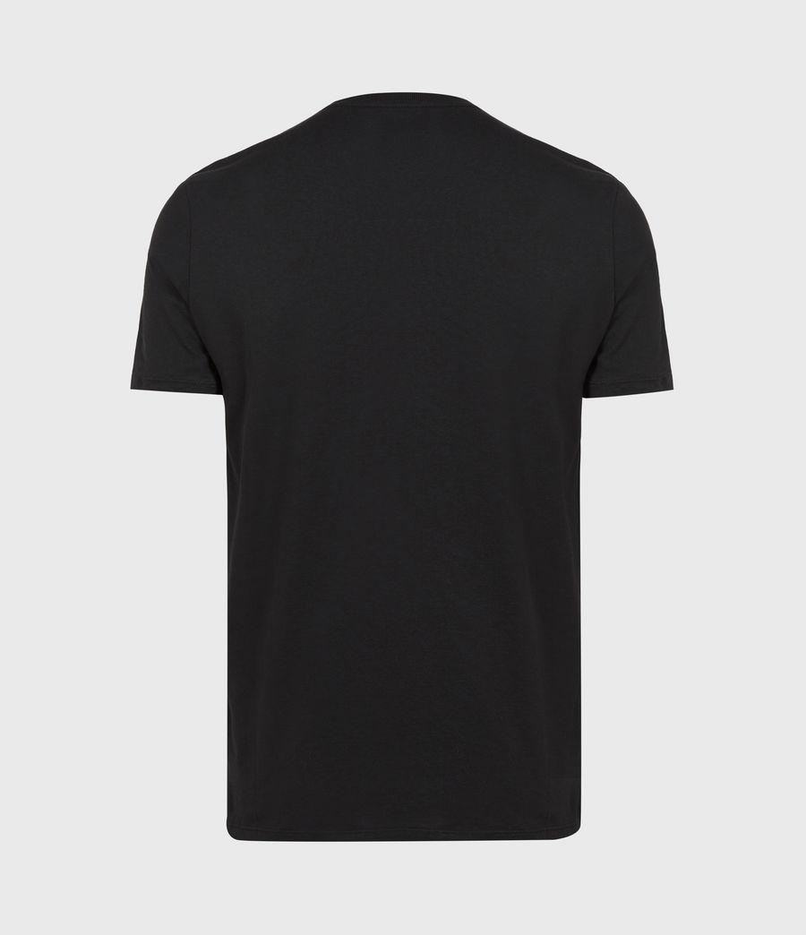 Men's Ceremony Brace Crew T-Shirt (jet_black) - Image 3