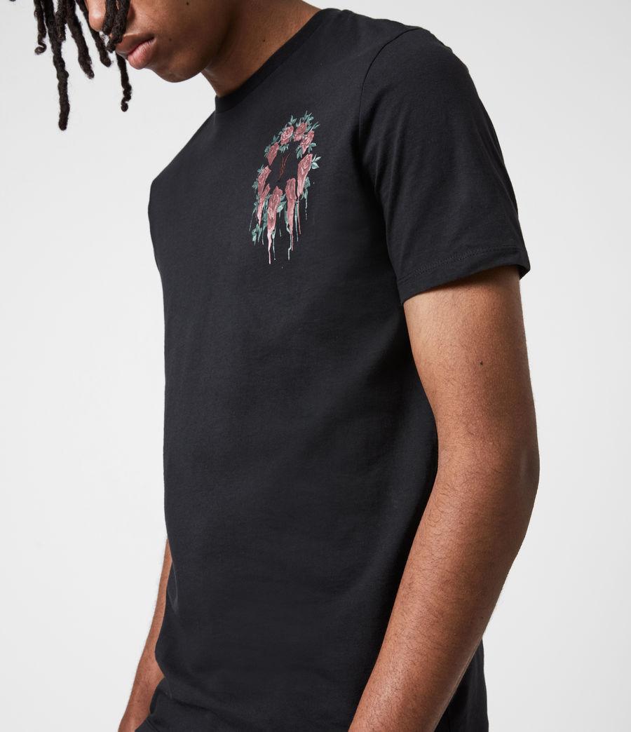 Men's Ceremony Brace Crew T-Shirt (jet_black) - Image 4