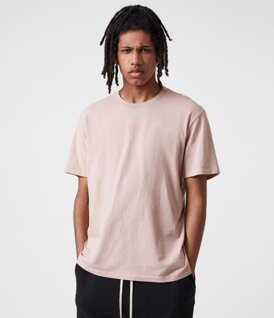 Men's Opposition Crew T-Shirt (balsastone_pink) - Image 1