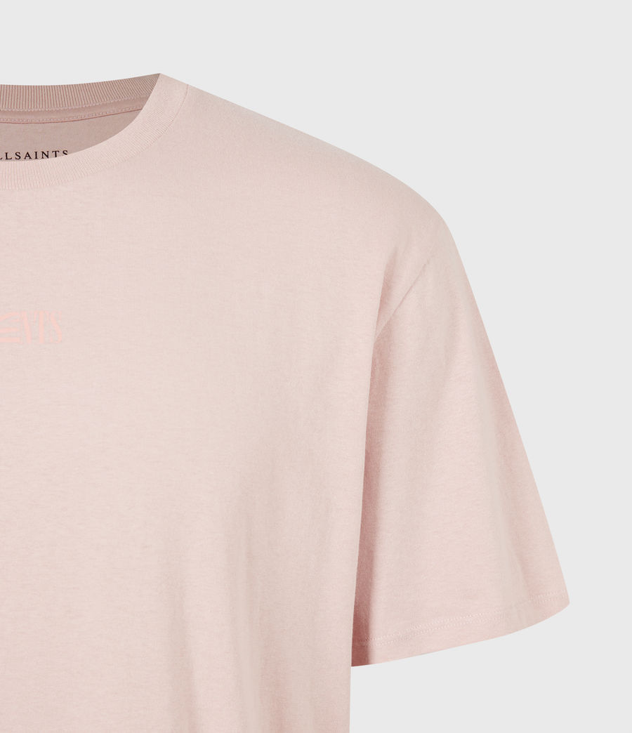 Men's Opposition Crew T-Shirt (balsastone_pink) - Image 5