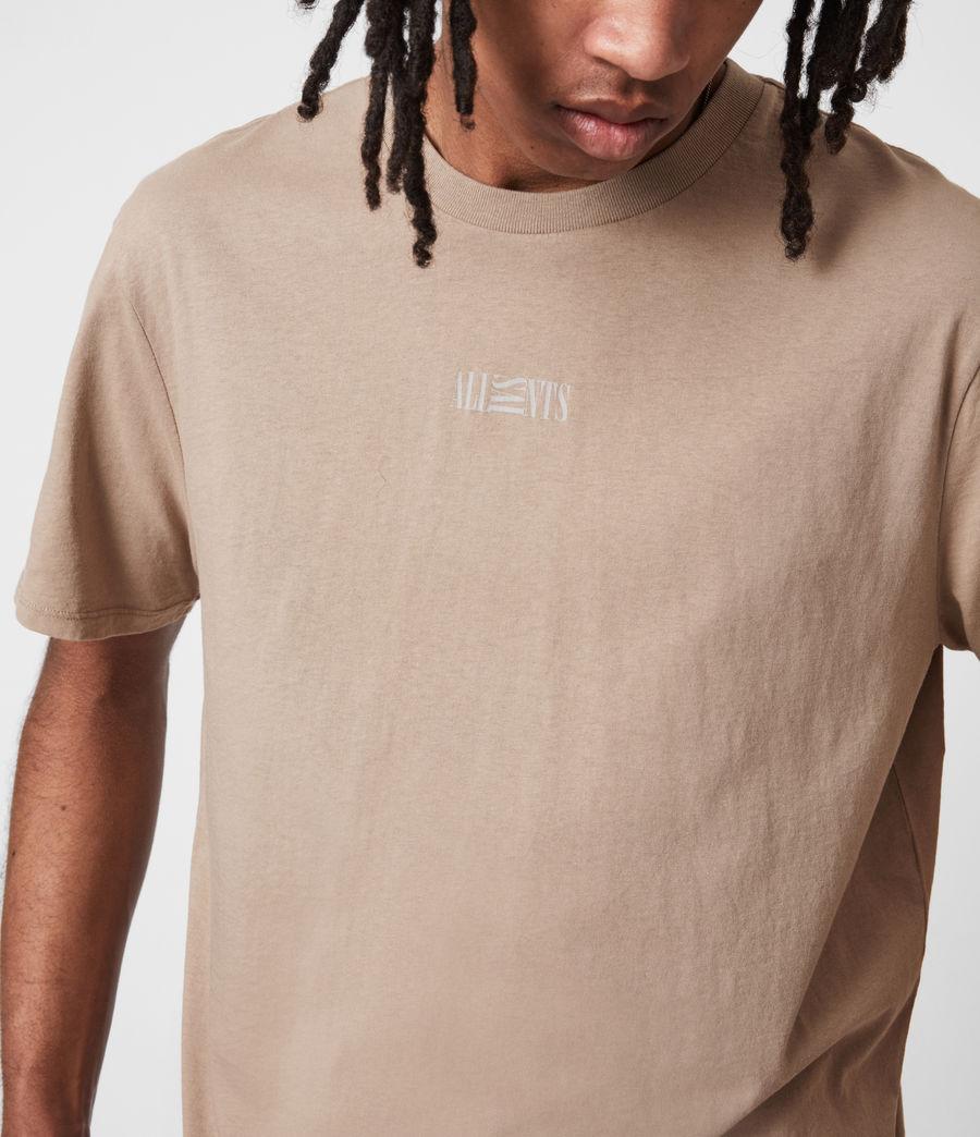 Herren Opposition Crew T-Shirt (pewter_grey) - Image 4
