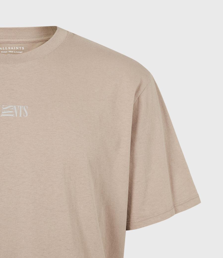 Herren Opposition Crew T-Shirt (pewter_grey) - Image 5